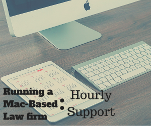 Running a Mac-Based Law Firm
